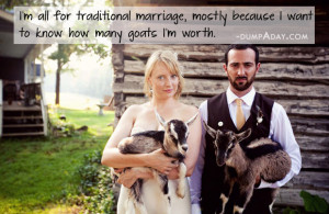 Traditional Marriage Quote