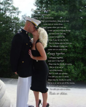 Photo Gift ideas for Army wives and military couples & The Kiss