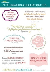 Quotes and Titles for Your Scrapbook Layout