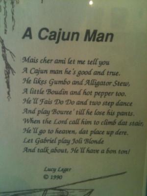 Cajun Man Quotes Husbandcajun