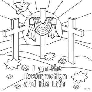 catholic easter coloring pages free - photo#10