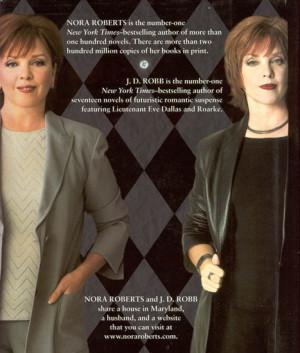 Nora Roberts e Eve Dallas!