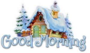 goodmorning good morning snow snowy winter Image