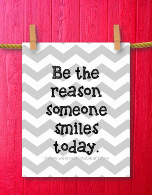 Be the Reason – Printable wall art decor poster Framed Quote by ...