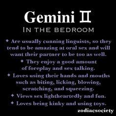 Gemini in the bedroom. More
