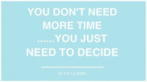 organising your time it s time to decide