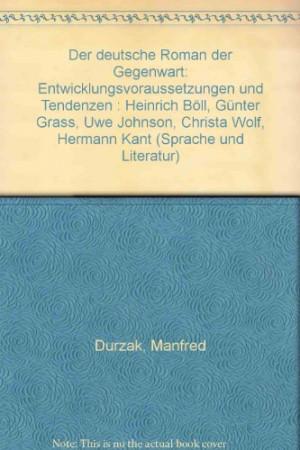 ... Gunter Grass, Uwe Johnson, Christa Wolf, Hermann Kant (Sprache und