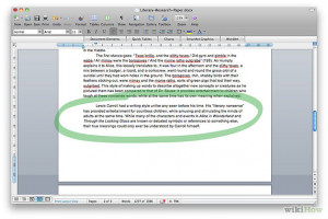 Essay ghost story