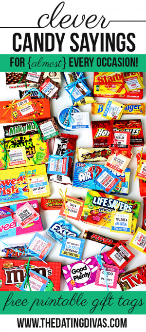 mean, who wouldn't LOVE a candy bar love note or two?! And it ...