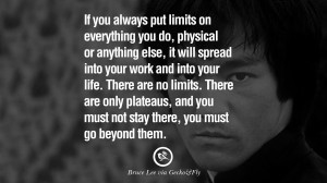 Bruce Lee Quotes If You Spend Too Much Time Thinking About A Thing