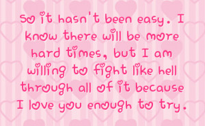 Hard Time Quote Real Love Quotes All