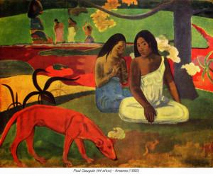 Paul Gauguin (biografía - cronología - obra)