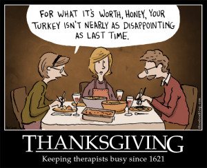 Thanksgiving Funny Cartoon