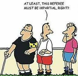 Referee In The Bar After the Game