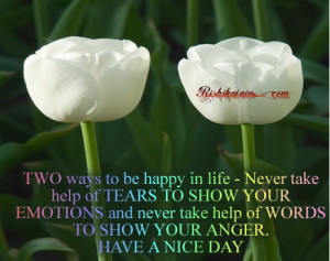 ,emotions,feelings,tears,words,nice day,wishes,Inspirational Quotes ...