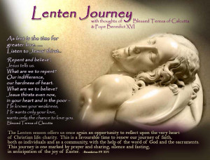 Stations of the Cross that Blessed Teresa prayed almost every day >>>
