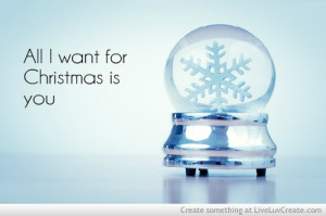 ... want for christmas is you3, couples, cute, love, pretty, quote, quotes