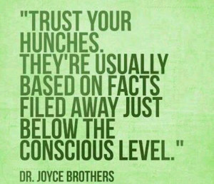 Bunches and intuition