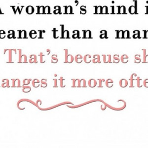 Funny Quotes About Women