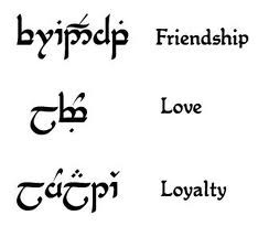 and Sam will be happy to know that there are sites, such as elvish ...