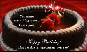Happy Birthday My Love