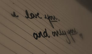 always, font, heart, her, him, i love you, love, only you, quote, text ...