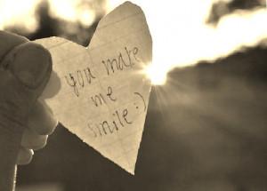 You Make Me Smile by TeeDee03
