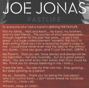 Jonas Brothers Quotes! | Facebook aww I just love this! He's so cute ...