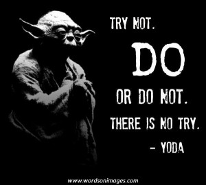 Famous Yoda Quotes Sayings