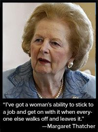"""great quote from a strong woman. """"The Importance of Women Leaders ..."""
