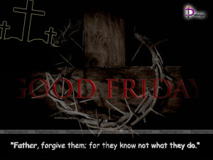 Good friday quotes and sayings by Jesus On Cross