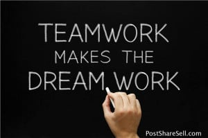 Teamwork Makes the Dream Work Quote