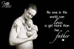... quote for a father and his daughter, love, daddy's little girl