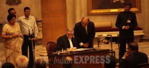 Justice P Sathasivam was today sworn in as the 40th Chief Justice of