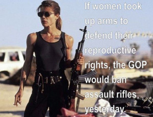 And I'd add we'd suddenly stop quibbling over what an assault weapon ...