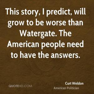 Curt Weldon Quotes