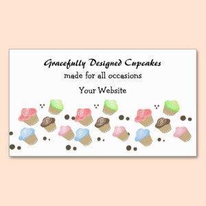 Cute Mini Cupcake Design