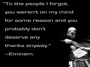Eminem Quotes About Living Life: Who Is Eminem And Read Quote About ...