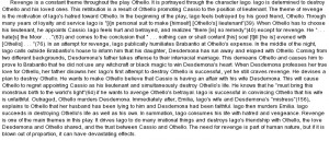Quoting othello in an essay