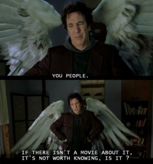 Dogma Movie Quotes If there isn't a movie about