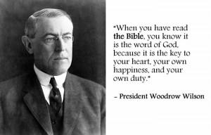 Woodrow Wilson, 28th American President (Term: 1913-1921)