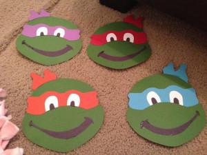 Teenage Mutant Ninja Turtles Party Printables