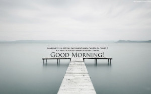 Home » Quotes » Beautiful Lake Good Morning Quotes Wallpaper