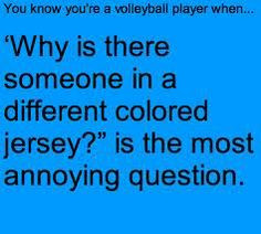 volleyball Libero Problems More