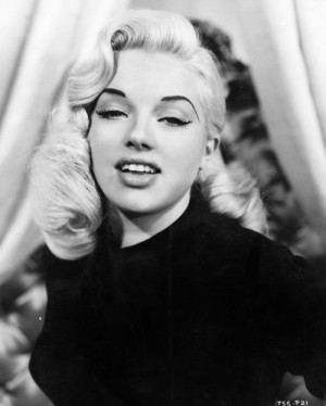 vintage 1950's pin-up old hollywood classic actress diana dors