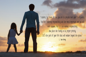 Fatherhood Quotes from LDS Church Leaders