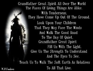 Grandfather Great Spirit All Over