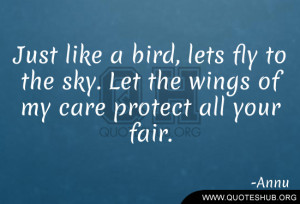 Fly Just Like Bird Tumblr Relationship Quotes