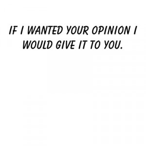 Your Opinion Doesnt Matter Quotes Your Opinion Doesn't Matter Quotes
