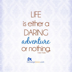 Life is an adventure! :)
